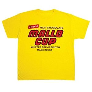 Boyer Candy Co. Mallo Cup T-Shirt Large - NWOT